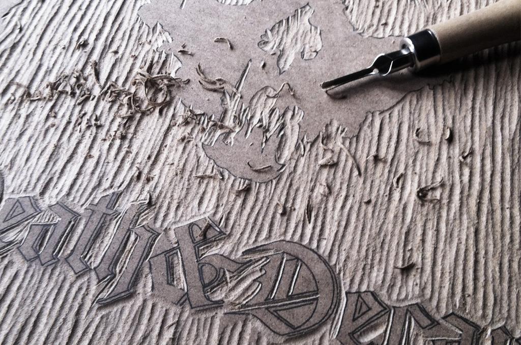 Death&Decay Holzschnitt