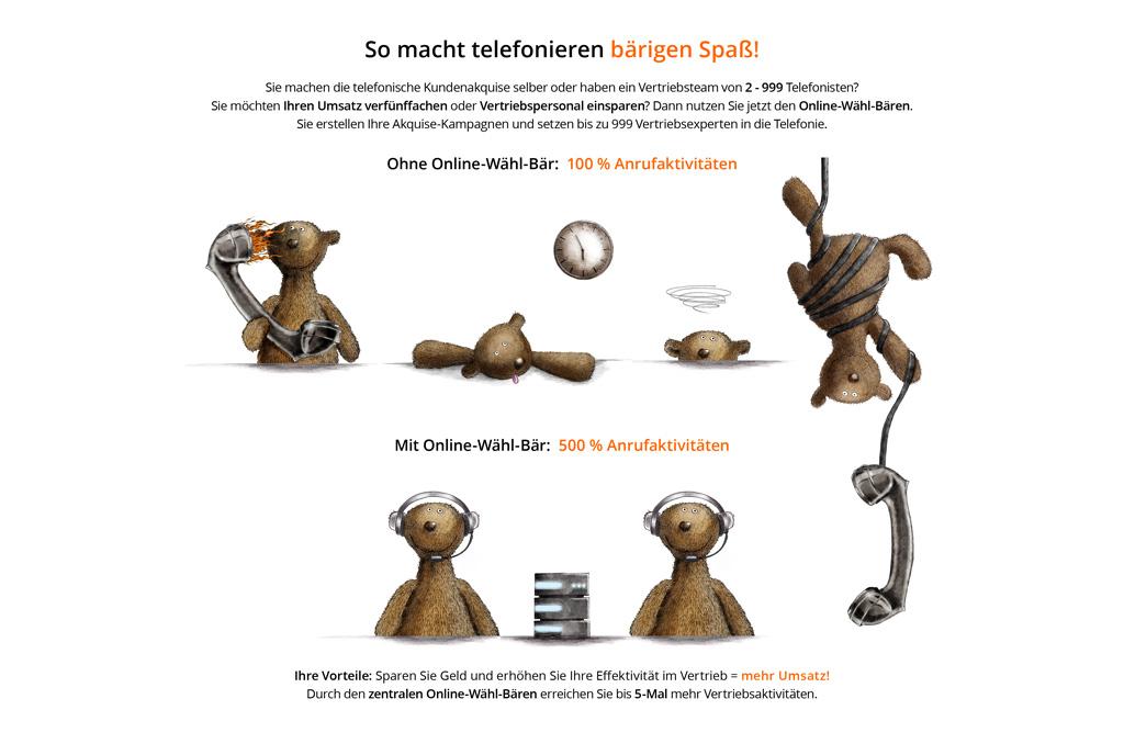 Entbrannt am Telefon - Jonas Keseberg // Visuelle Kommunikation & Grafik Design