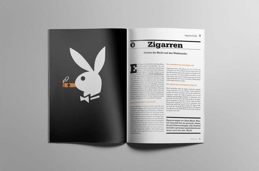 Playboy - Jonas Keseberg // Visuelle Kommunikation & Grafik Design