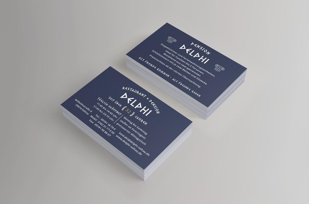 Restaurant Delphi - Jonas Keseberg // Visuelle Kommunikation & Grafik Design
