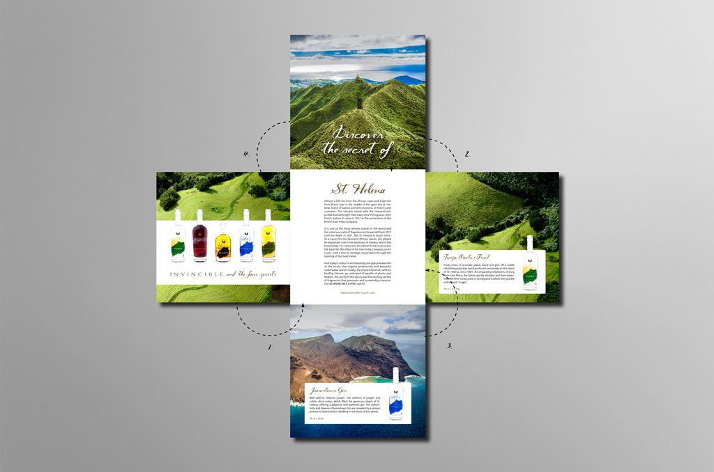 Invincible Esprit - Jonas Keseberg // Visuelle Kommunikation & Grafik Design
